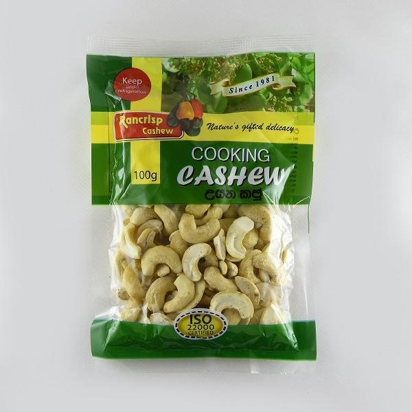 Rancrisp Cooking Cashew 100G - in Sri Lanka