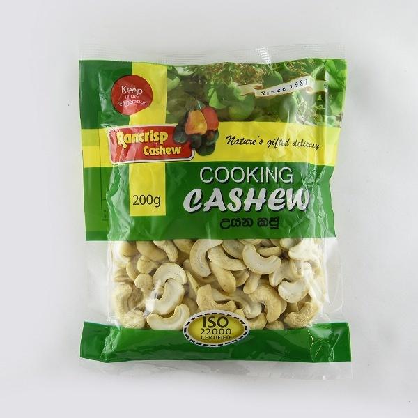 Rancrisp Cooking Cashew 200G - in Sri Lanka