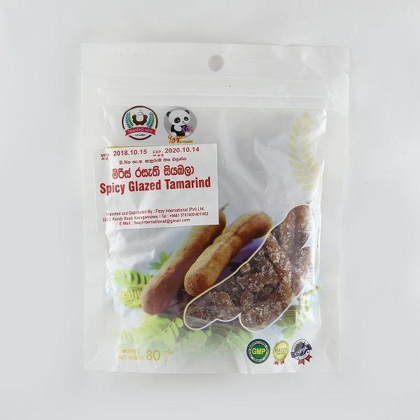 Spicy Glazed Tamarind 80G - in Sri Lanka