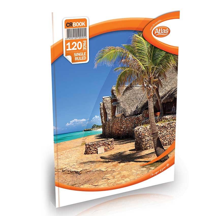 Atlas Book Cr Single Rule License 120pg - in Sri Lanka