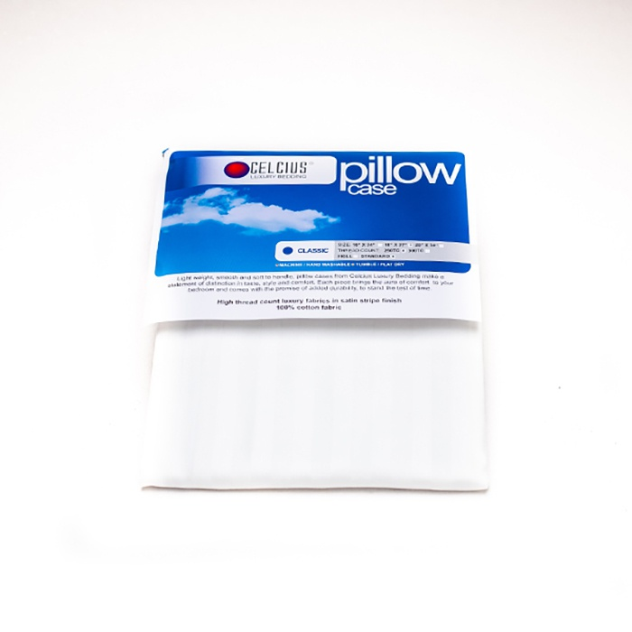 Celcius Pillow Case White 18X27 - in Sri Lanka
