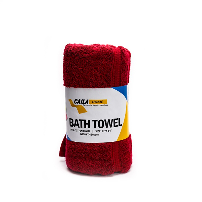 Caila Towel Bath Red 27x54 - in Sri Lanka