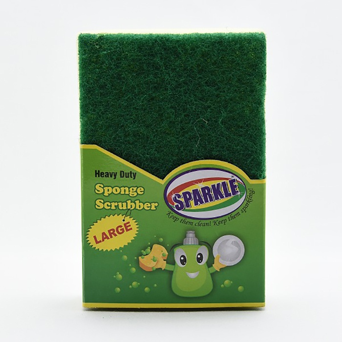 Sparkle Sponge Scrubber Large 6x4 - in Sri Lanka
