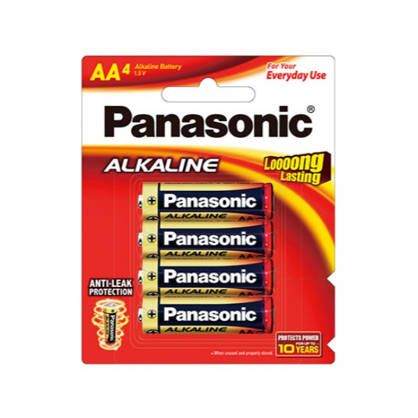 Panasonic Batteries-Lr6T/4B-Aa - in Sri Lanka
