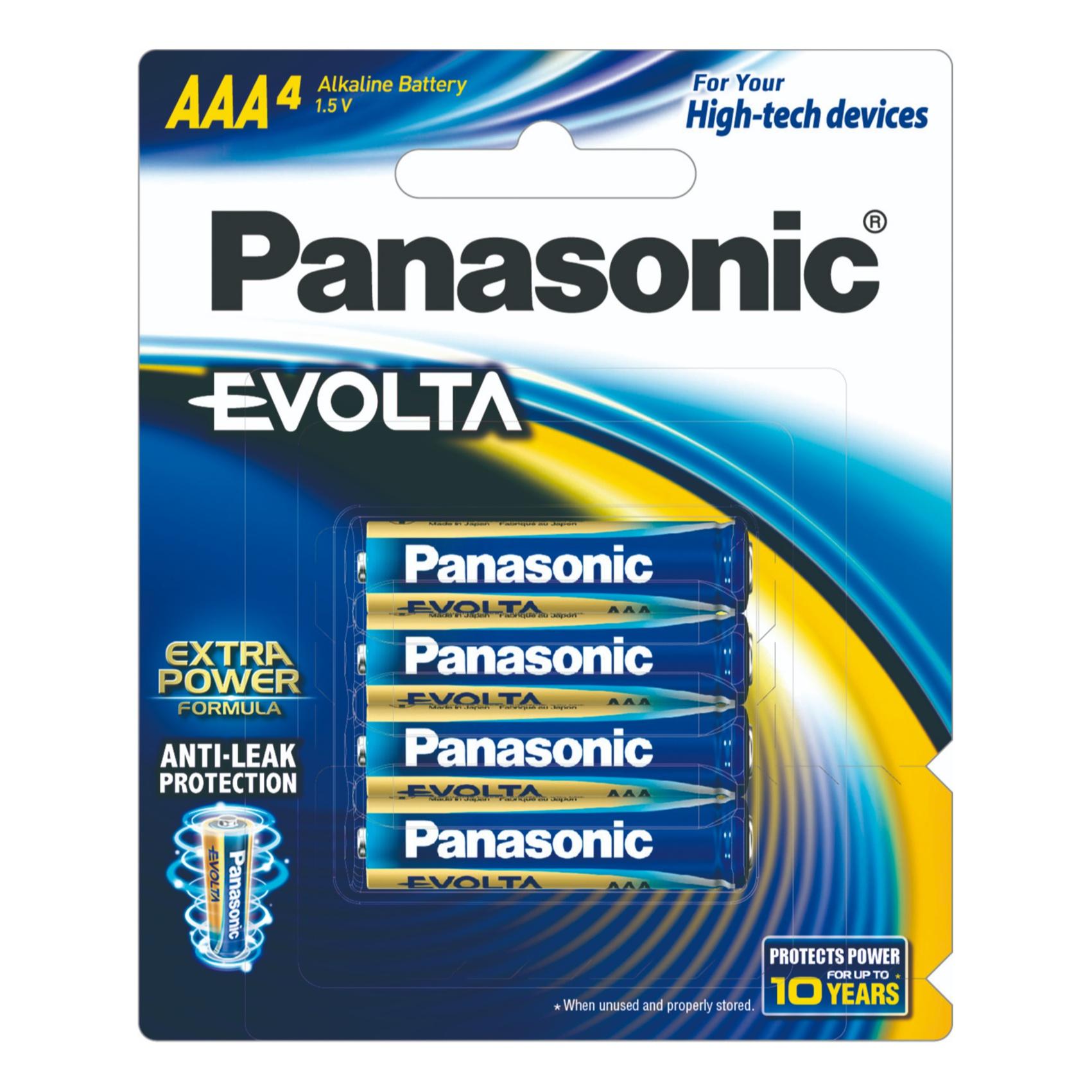 Panasonic Batteries-Lr03Eg/4B-Aaa - in Sri Lanka