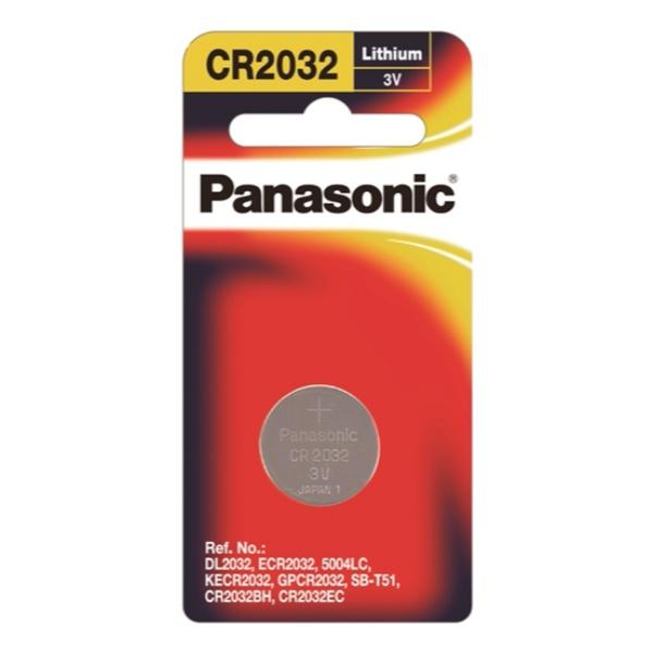 Panasonic Lithi Coin-Cr-2032Pt/1B - in Sri Lanka