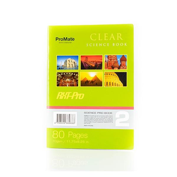 Promate Book Cr Clear 80P - in Sri Lanka