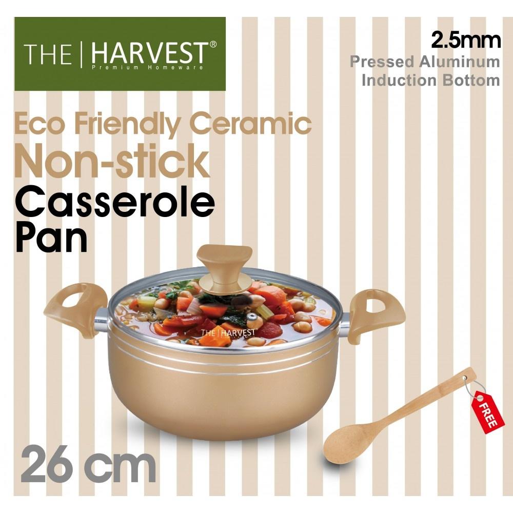 Harvest Ceramic Casserole 26cm- 5013 - in Sri Lanka