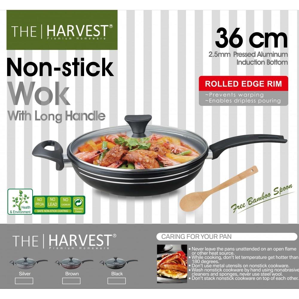 Harvest N.Stick Wok 36cm- 3391 - in Sri Lanka