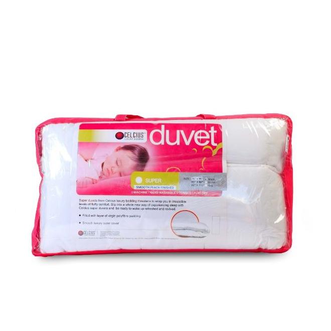 Celcius Classic Duvet Cover White 90X90 - in Sri Lanka